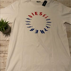 "Diesel Shirts - Diesel ""only the brave"" tee"